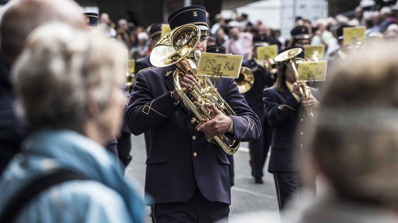 La fanfare Cécilia de Chermignon organise ce week-end l'Amicale de la Noble et Louable Contrée.