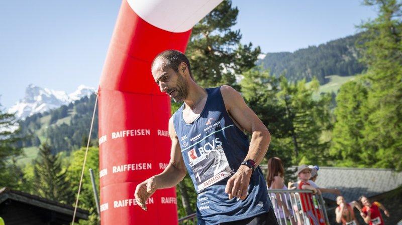 Le coureur à pied César Costa doit tirer une croix sur les drapeaux suisse et portugais