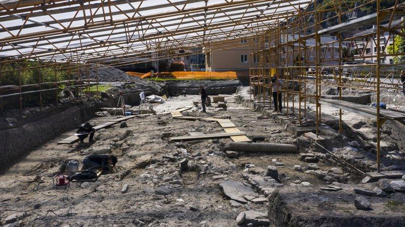 Saint-Maurice: un chantier archéologique d'envergure révèle une centaine de tombes