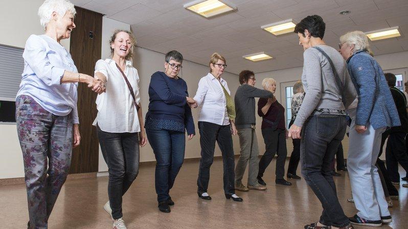 Les cours de danses de tous pays seront présentés mercredi à Sierre et jeudi à Pont-de-la-Morge.