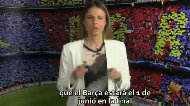 Le quotidien espagnol Sport a diffusé, par erreur, une vidéo dans laquelle il félicite le Barça, pourtant éliminé.