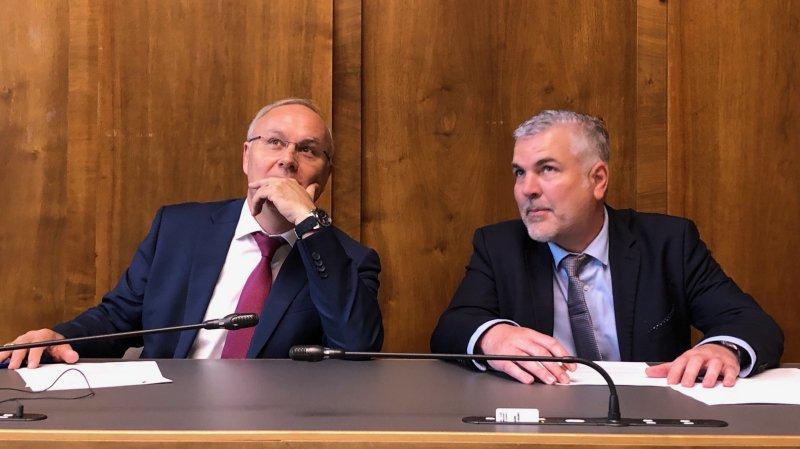 Valais: Gilles Martin élu président