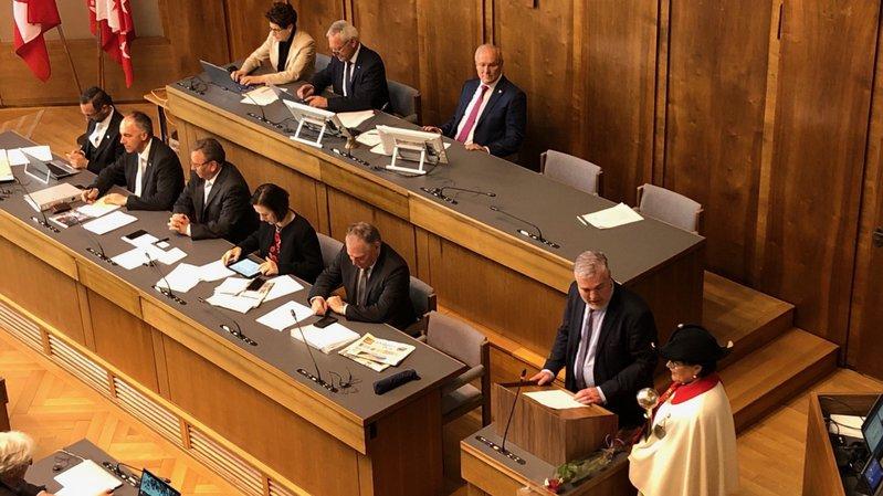 Olivier Turin a été élu premier vice-président du Grand Conseil.