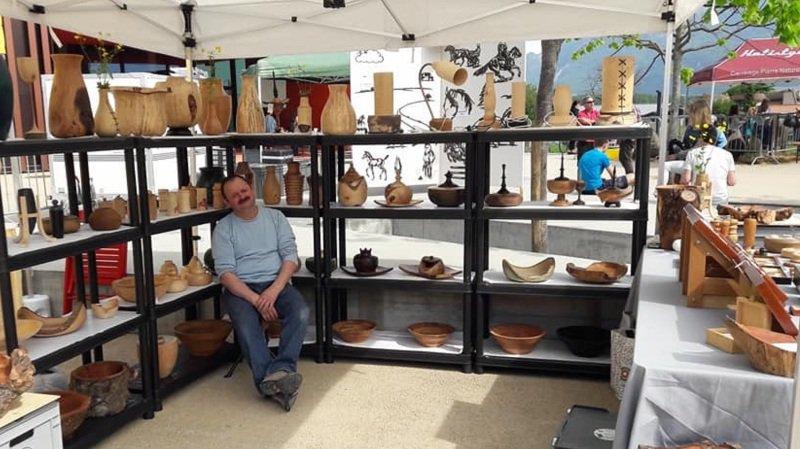 Les visiteurs pourront notamment découvrir des stands d'artisanat et de produits du terroir.