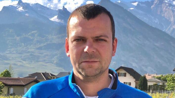Vincent Brulhart, entraineur du FC Riddes II, 5ème ligue