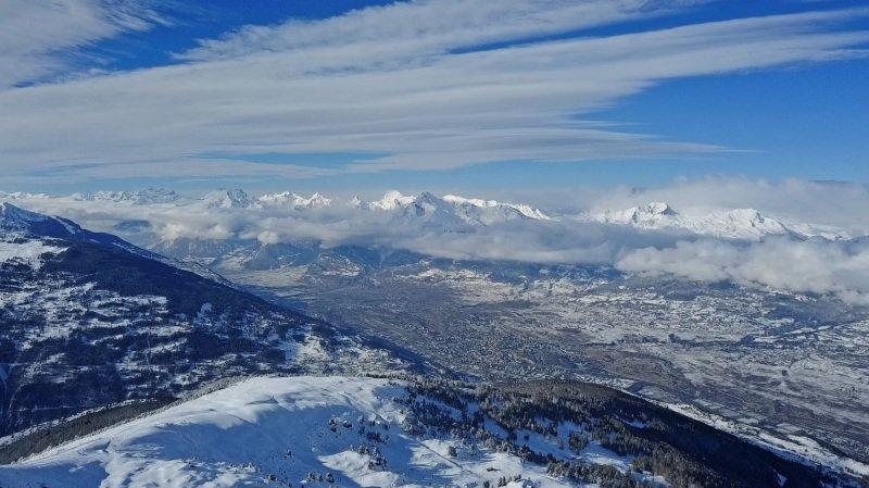 «Le Valais depuis les airs» les plus belles images de l'hiver au-dessus du canton