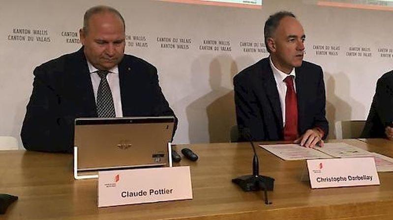 Bisbille Claude Pottier-Christophe Darbellay: le Conseil d'Etat répond aux questions des députés