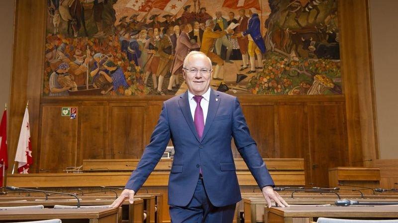 Présidence du Grand Conseil: Gilles Martin, un engagement plus qu'une ambition. Portrait