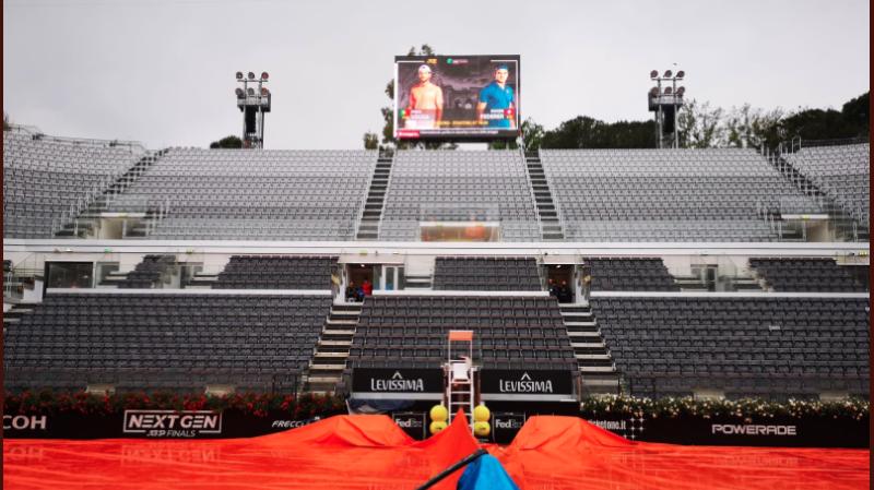 Masters 1000 et tournoi WTA de Rome: les matches de Federer et Bencic tombent à l'eau