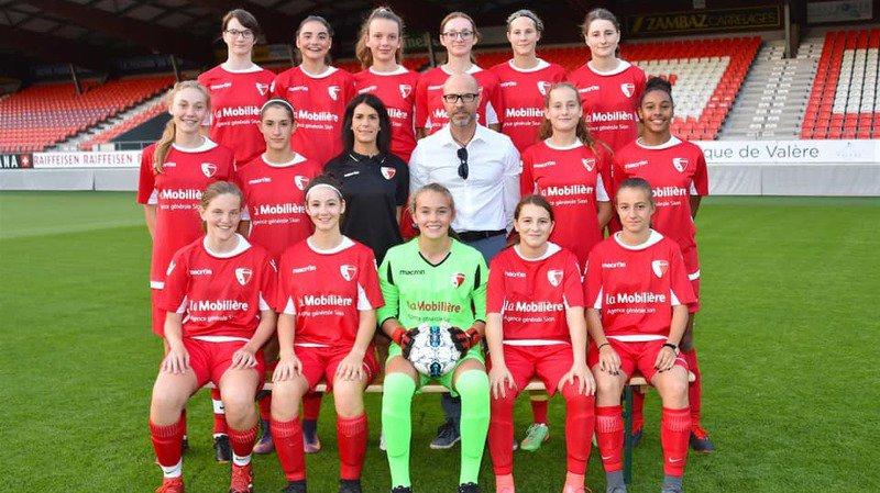 Les juniors B du FC Sion féminin