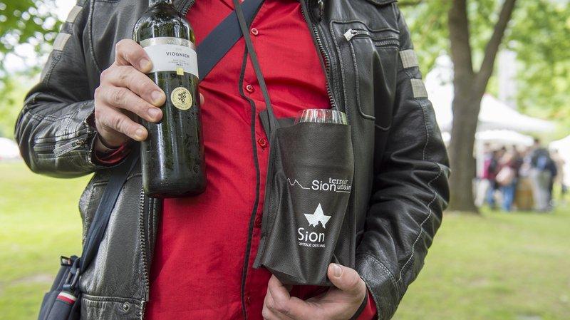 Le Jardin des vins a été lancé par les vignerons sédunois en 2008.