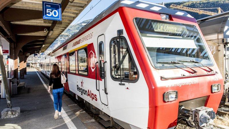 Valais: RegionAlps a transporté 9,1 millions de passagers