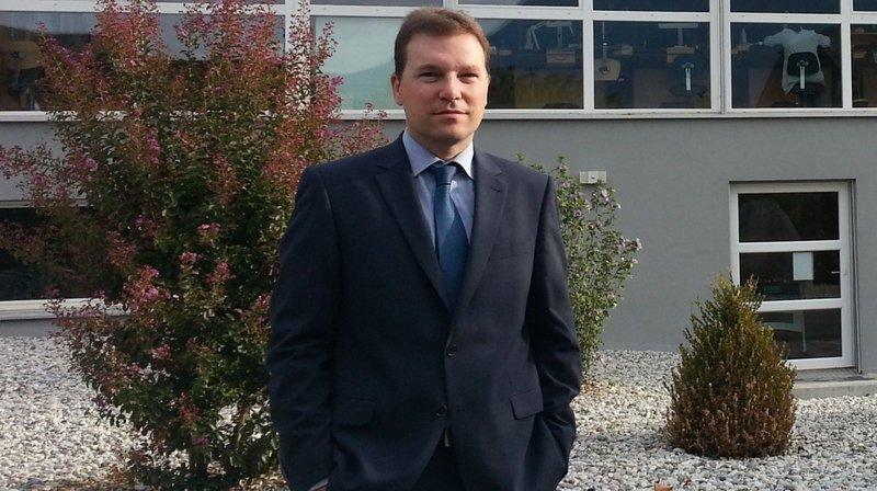 Jérôme Monnat, le nouveau président de l'UDI.