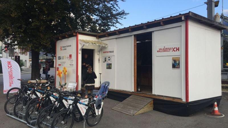 En 2018, Valaisroule a comptabilisé près de 13 000 prêts de vélos sur l'ensemble du canton.