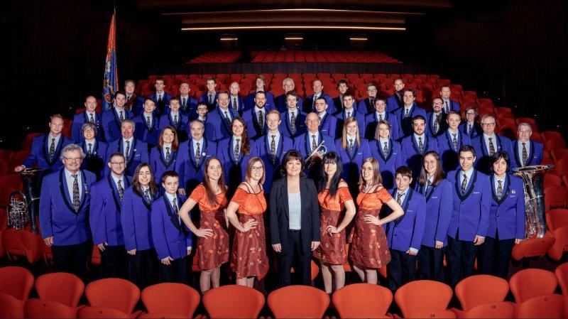 Les musiciens de l'Edelweiss se réjouissent d'accueillir ces trois jours de fête.