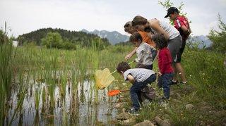 Fête de la nature en Valais: le bonheur est dans les prés, les champs et les vignes