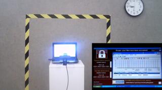 Vente aux enchères: un ordinateur infecté par des virus dépasse le million de francs