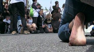Grève mondiale pour le climat: les manifestants retournent dans les rues de Lausanne