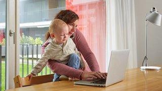 Egalité: les mères sans emploi perdent jusqu'à 470'000 francs de revenu