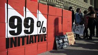 L'initiative pour taxer 1% des Suisses les plus riches a abouti