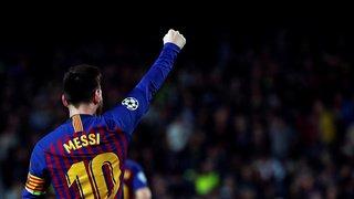Football: 6e Soulier d'Or pour Lionel Messi, meilleur buteur des championnats européens
