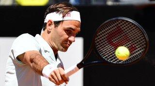Tennis - Masters 1000 de Rome: Federer bat Sousa au 2e tour et affrontera Coric en fin de journée