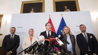 Après la mise à l'écart du vice-chancelier Autrichien, des élections anticipées sont annoncées