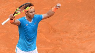Rafael Nadal a battu Stefanos Tsitsipas à Rome une semaine après sa défaite à Madrid