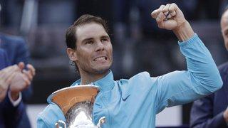 Rafael Nadal bat Novak Djokovic en finale à Rome