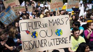 Grève mondiale pour le climat: la mobilisation est en baisse à Lausanne et Genève
