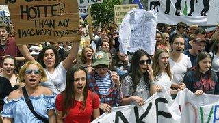 Grève mondiale pour le climat: les jeunes Suisses se sont moins mobilisés ce vendredi