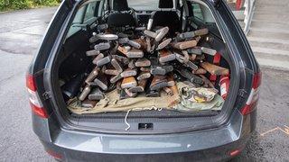 Suisse centrale: près de 700 armes remises volontairement à la police