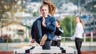 L'athlète Manon Berclaz découvre le 400 mètres et obtient la limite pour le FOJE