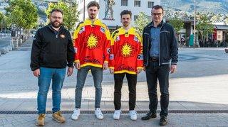 HC Sierre: Kenny Fellay et Loïc Vouardoux sont de retour à Graben