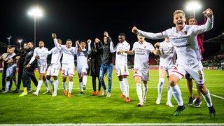 FC Sion: un soulagement fêté sans retenue après la victoire contre Neuchâtel