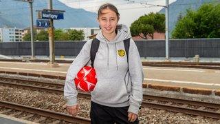 Football: Malaurie Granges, pendulaire du ballon par passion et par obligation