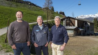 Grimentz: la première étable communautaire du Valais a 50 ans