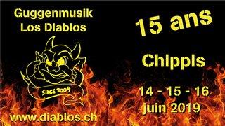 15 ans - Guggenmusik Los Diablos