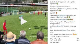Un joueur du FC Sierre crée le buzz sur internet