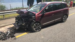 Saint-Gingolph: une collision frontale fait trois blessés