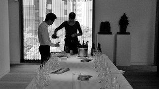 Marie Linder, Kim Seyoung et les vins du Valais à Séoul