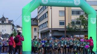 Sierre: Wake up and run pour bien démarrer la journée