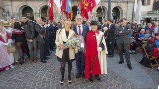 En images: l'élection du nouveau président du Grand Conseil Gilles Martin