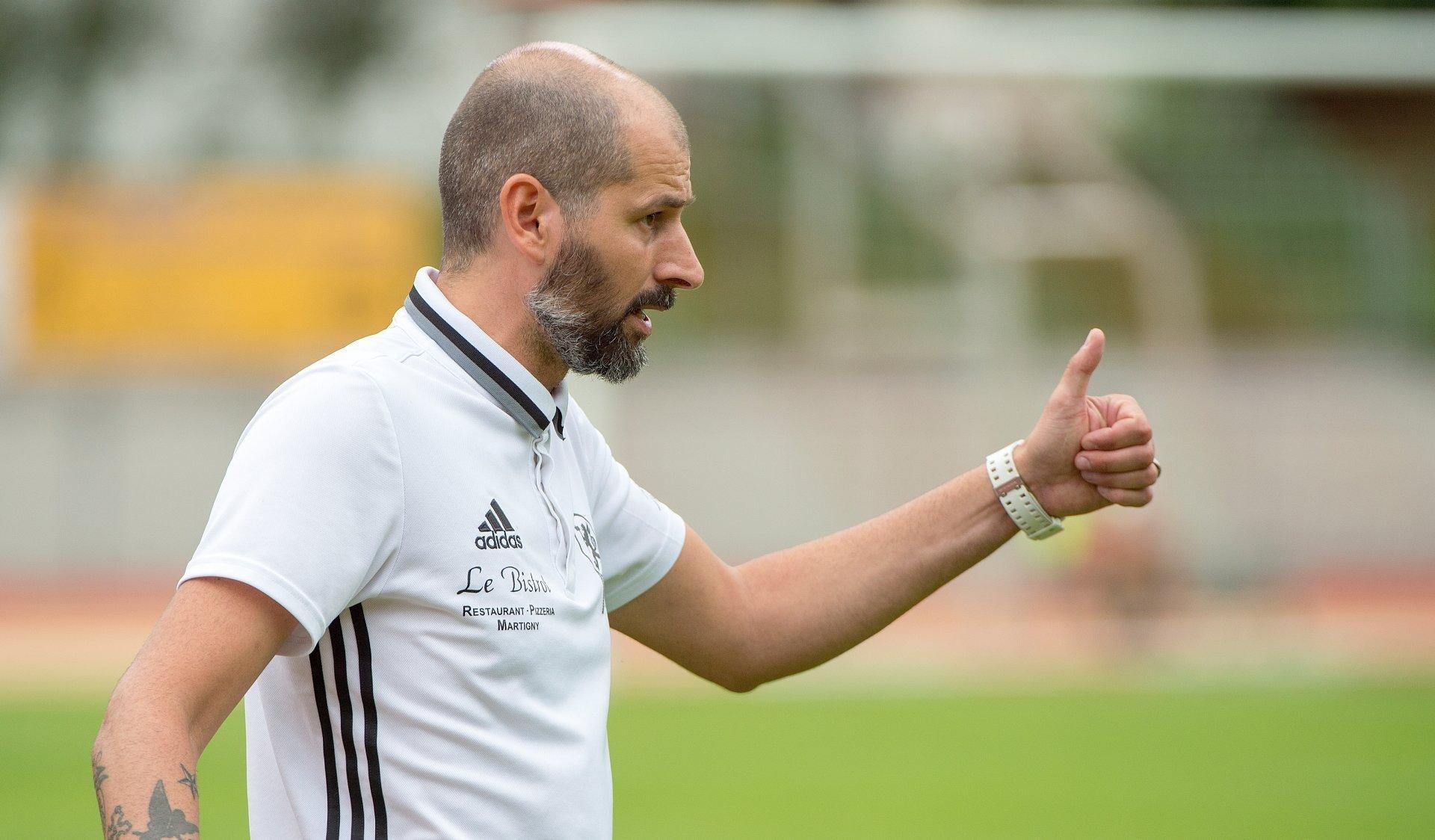 Poursuivre l'aventure avec le FC Martigny-Sports? Ugo Raczynski est décidé de dire oui.