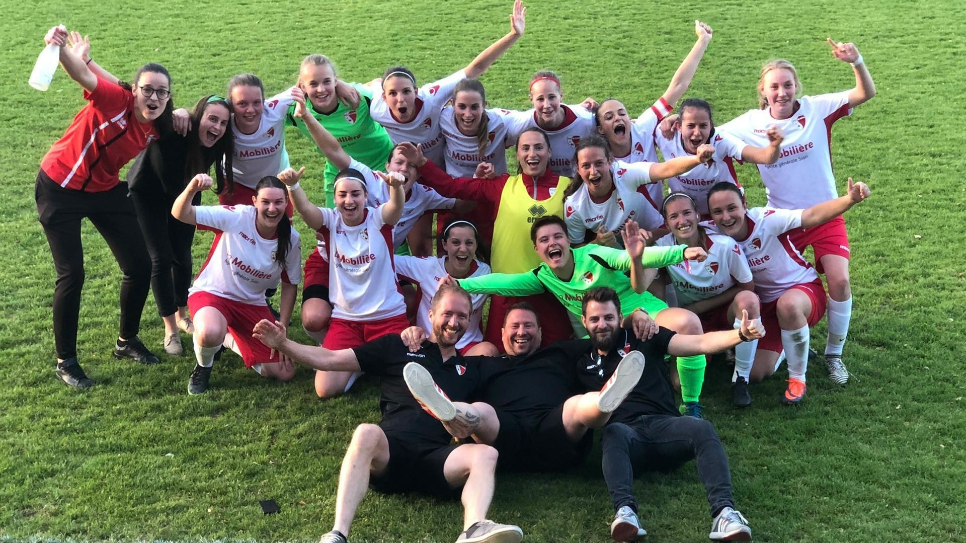 En terminant sur le podium de 1ère ligue, le FC Sion féminin fait désormais partie des trois meilleures équipes féminines de Suisse romande