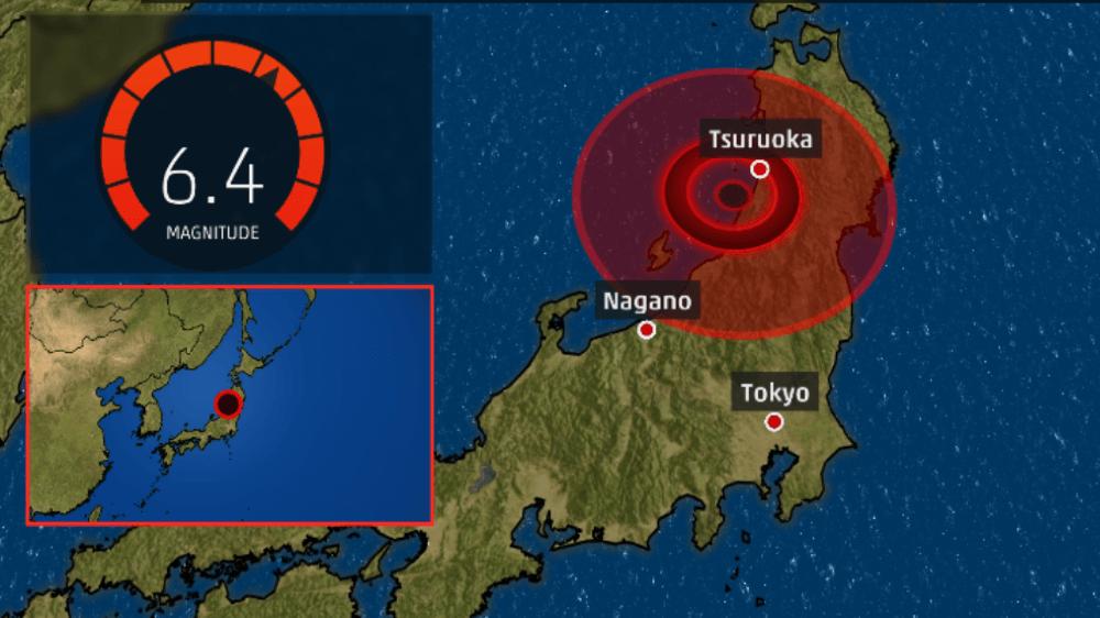 Japon: un puissant séisme dans le nord-ouest provoque un petit tsunami