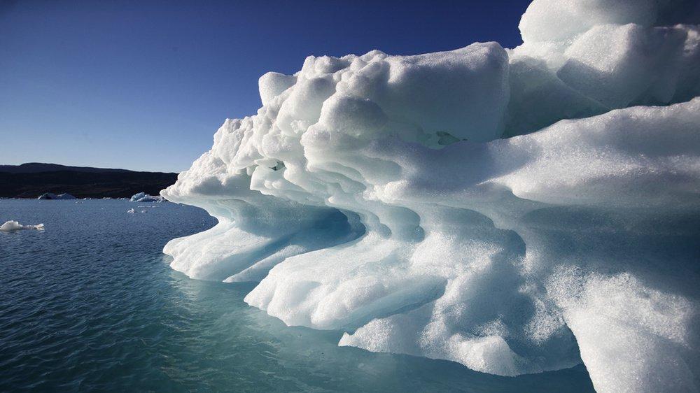 Réchauffement climatique: le Groenland a perdu 2 milliards de tonnes de glace en un jour