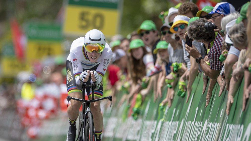 Cyclisme - Tour de Suisse: Rohan Dennis premier maillot jaune, Stefan Küng seulement 9e