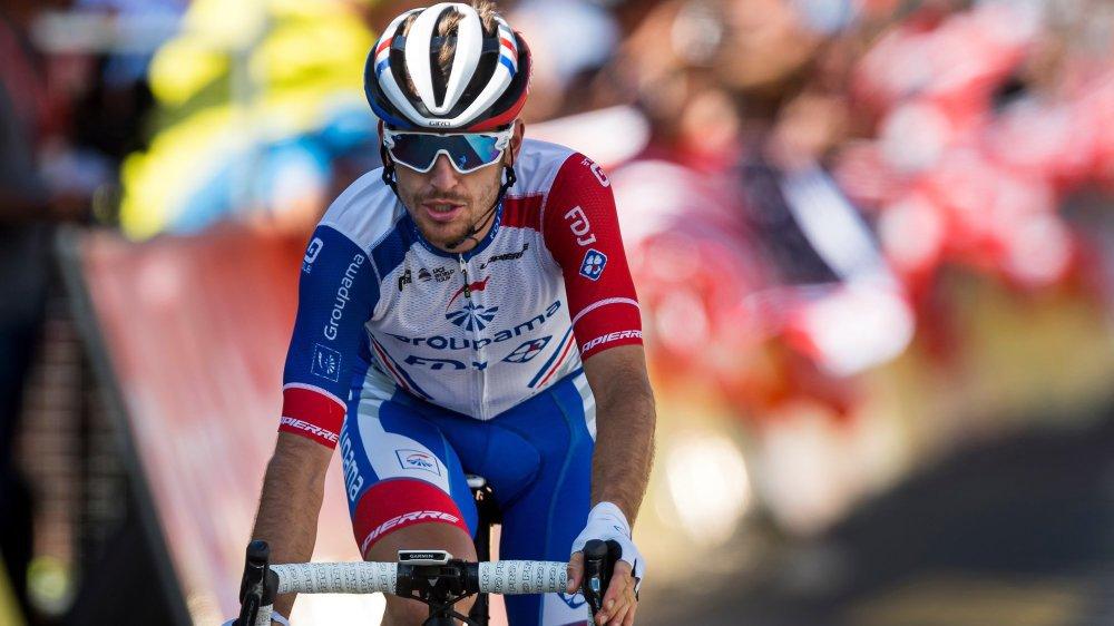 Sébastien Reichenbach s'est classé sixième de l'étape à Champéry.