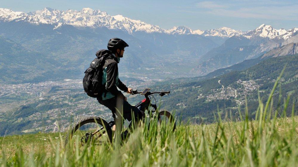 Au total, 39 parcours d'e-bike répartis entre Crans-Montana, Sierre et Anniviers ont été créés dans le cadre du projet Energy Bike District.